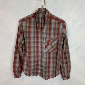 Vintage Levi's  Button Down Plaid Shirt